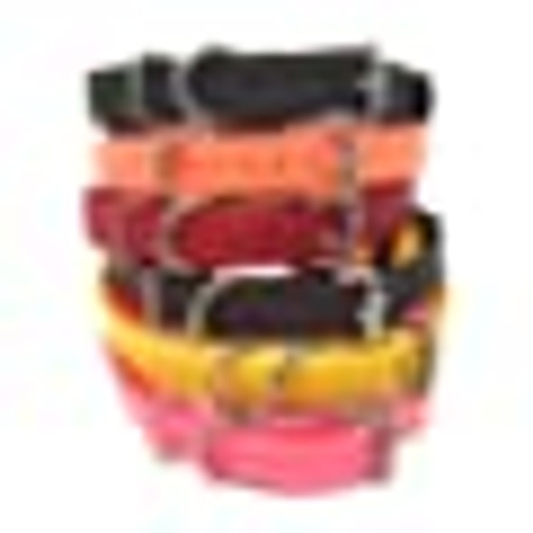 "3/4"" Sparky Pet Co Biothane Replacement Collars Bl-300 400 Series- 6 Colors 3 Colors"