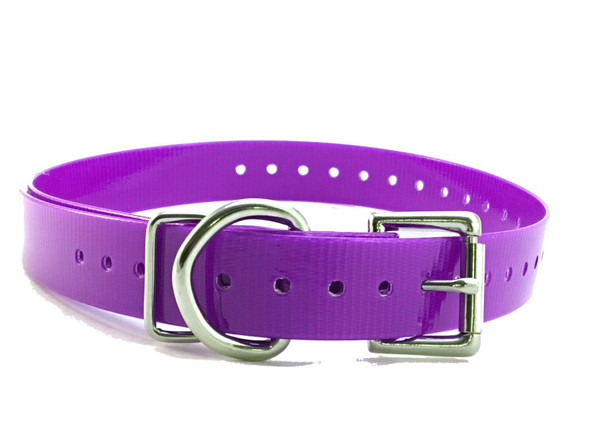 "Sparky Pet Co  Vibration Bark Roller Buckle 3/4"" Wireless Replacement Collar-Colors"