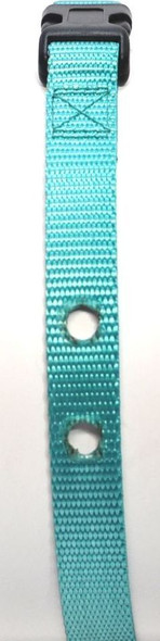 "Sparky Pet Co 3/4"" Replacement Collar for DOG Fencing Receiver Collars, Teal"
