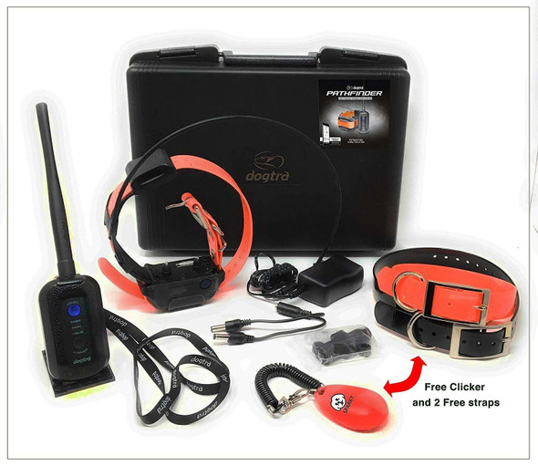 Dogtra Pathfinder GPS + E-Collar (Free Clicker And Training Collars Included)