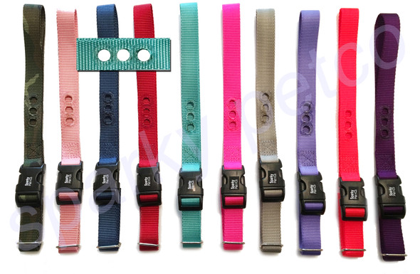 """1"""" 3 CONSECUTIVE HOLE RFA 48 NYLON RECEIVER REPLACEMENT STRAP"""