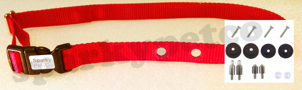 "Sparky Pet Co 3/4"" Receiver Collar - 14 Colors and  RFA-529 Kit"