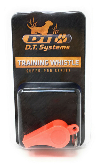 "DT Systems Pro Training Whistle, 1 Large Camo Canvas Dummy 3/4"" Red Dog Strap"