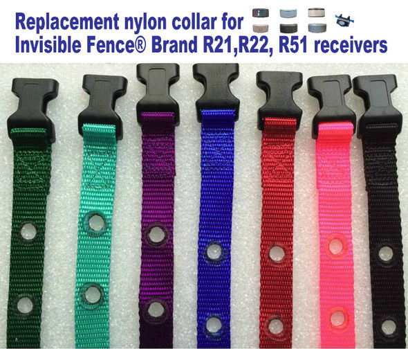 "3/4"" Nylon IF Compatible Receiver Replacement Straps 2 Holes 1 5/8"" Apart"