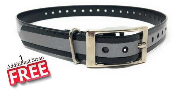 Dogtra iQ Plus Additional Receiver Orange Strap - with Free Extra Ref. Strap