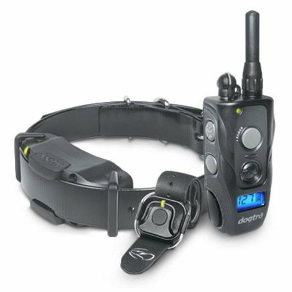 Dogtra 1900S Handsfree Training Collar with 2 Replacement Straps & Clicker Bundle