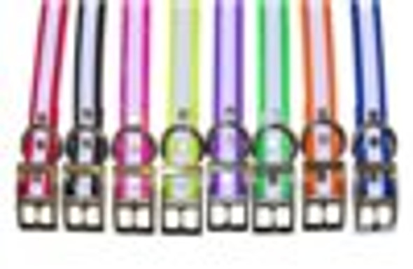 3/4 Inch Universal Reflective Strap - Reflective Pink