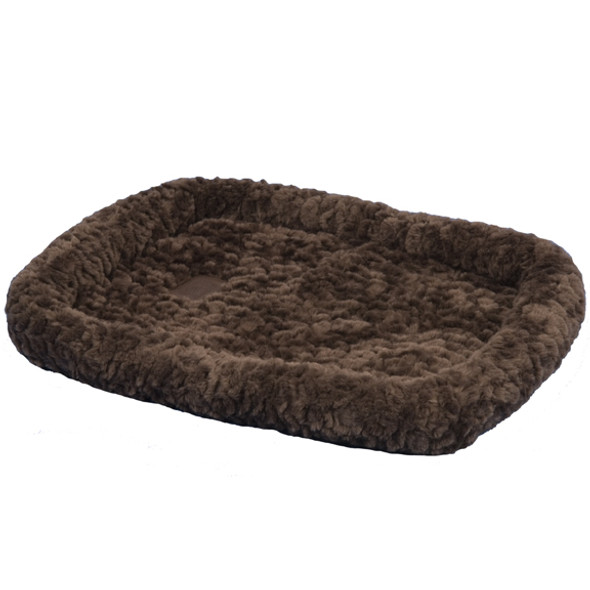 SnooZZy Cozy Bumper Bed - 3000-Chocolate