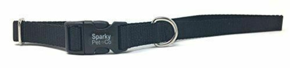 "Sparky Pet Co 1"" Universal Clip-N-Go Adjustable Nylon Dog Collars"