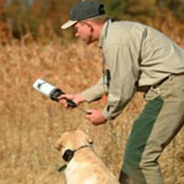 DT Systems Super Pro Dummy Launcher Hand Held Dog Training Kit Orange