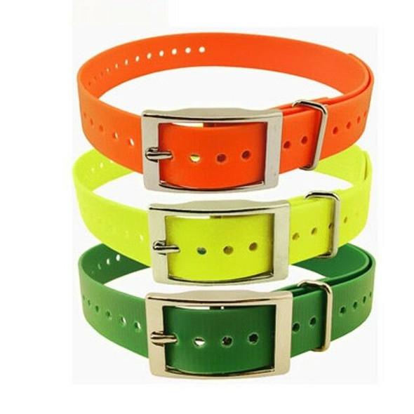 1 Pak 1 Inch Collar, Sq Buckle, Green- Black- Orange 1244603