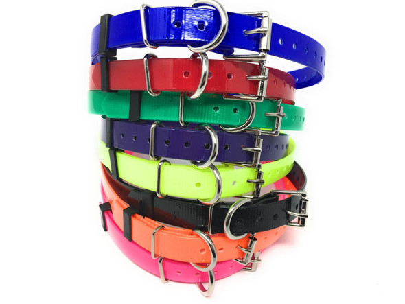 "Sparky Pet Co Waterproof High-Flex 3/4"" Roller Buckle Replacement Collars"
