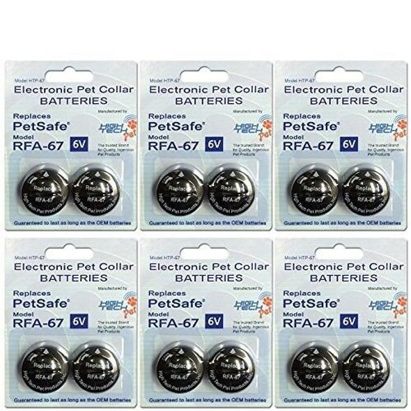 High Tech Pet RFA-67 PetSafe Compatible 6-Volt Trusted Electronic Pet Collar Rep