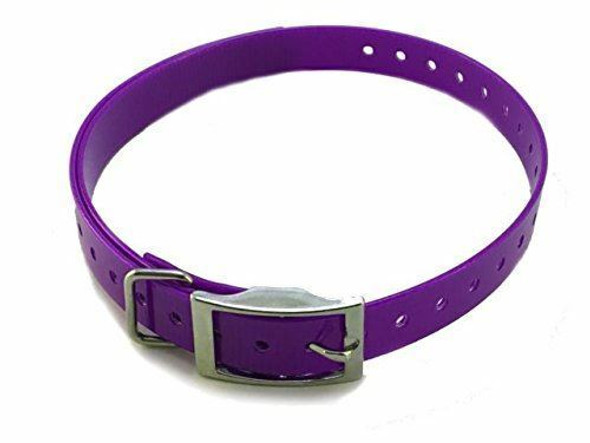 "Sparky Pet Co 3/4"" High Flex, Waterproof Replacement Square Buckle Dog Collar for"
