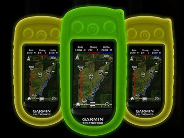 Garmin Alpha Glow In The Dark Green Protective Case