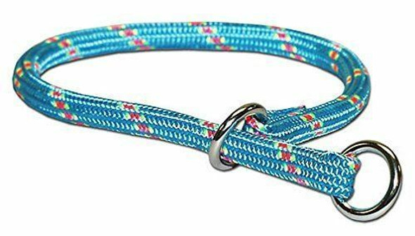 "Omni Pet 22"" Blue Mountain Choke Dog Collar, Blue"