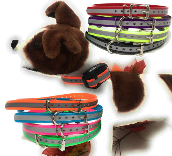 PetSafe 1 Inch Replacement Strap with Reflective Glow Strip