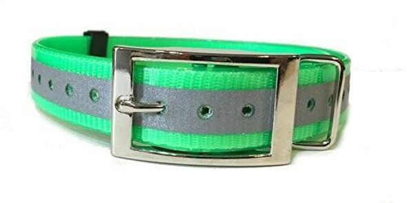 "Dogtra, PetSafe, E-Collar, 1"" Square Buckle High Flex Reflective Dog Strap"