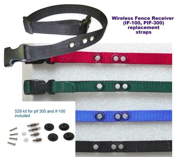 PetSafe IF- 100 PIF-300 3/4 Inch Replacement Collar Strap/W 529 Kit Refresh Kit