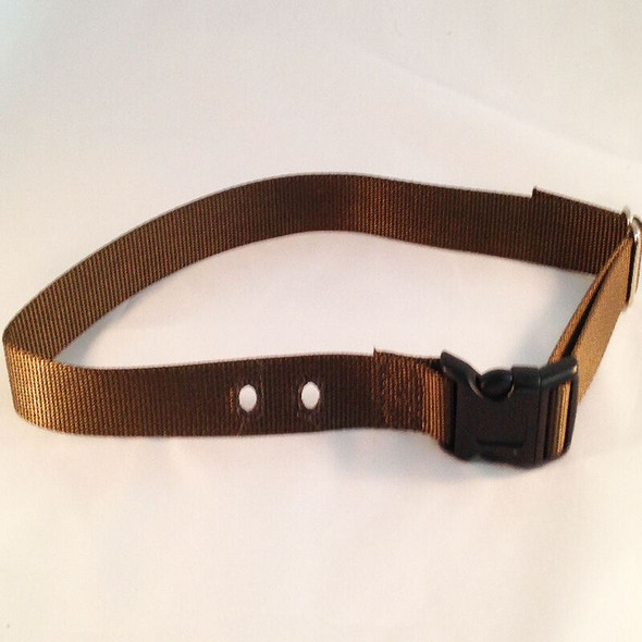 PetSafe compatible PIF 300 3/4 inch replacement collar strap- COLORS Raspberry & Bark