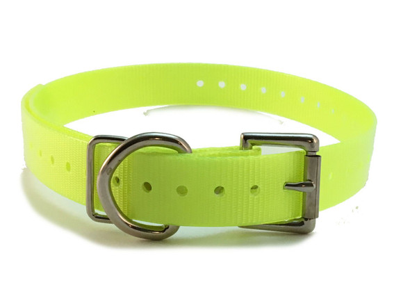 """GPS 1 Inch Color Universal Replacement Straps WITH """"D"""" RING"""