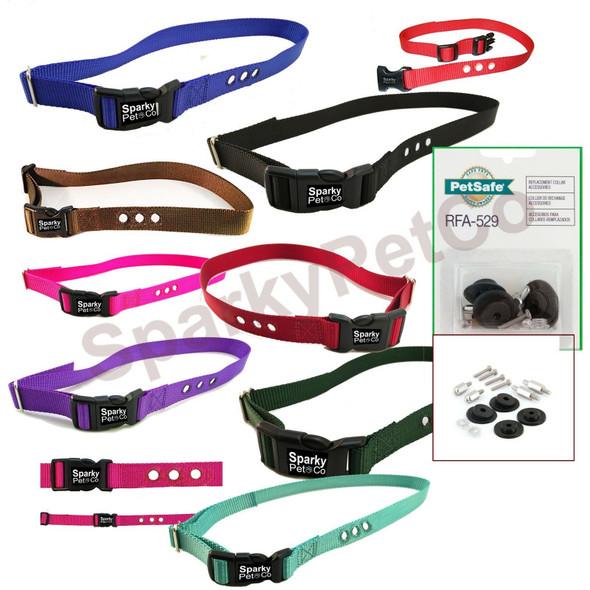 1 Hole PetSafe Compatible RFA-529 & PIF 275 Replacement Strap Kit