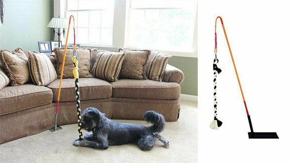 Tether Tug Indoor Interactive Dog Tugging Pull Exercise Toy Small Dogs