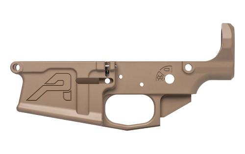 Aero Precision M5 (.308) Stripped Lower Receiver - FDE Cerakote - APAR308005C