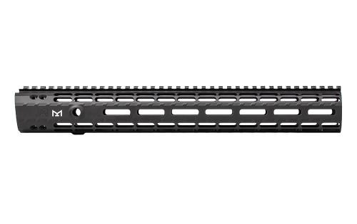 "Aero Precision 15"" AR15 Enhanced M-LOK Handguards, Gen 2 - Anodized Black (w/ BAR Barrel Nut) - APRA100218A"