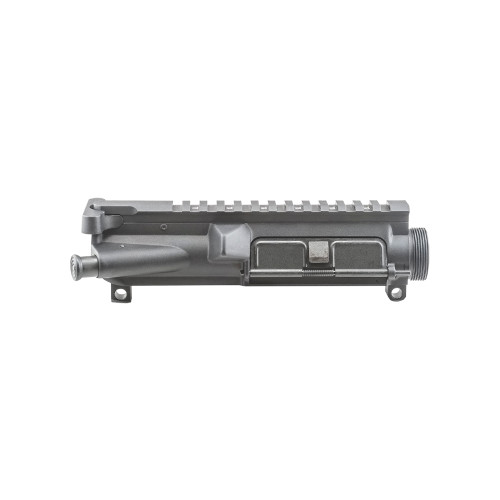 Luth-AR, Assembled NC15 A3 Upper Receiver, 7075-T6 Forged Aluminum, Hard-Coat Anodized Black (Charging Handle, Forward Assist, and Dust Cover Installed) - FTT-EA1