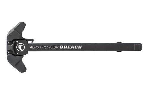 Aero Precision AR15 BREACH Ambi Charging Handle w/ Small Lever - Black - APRA700100C