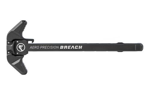 Aero Precision AR15 BREACH Ambi Charging Handle w/ Large Lever - Black - APRA700101C