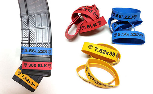 Faxon Magazine Marker Bands Variety Red