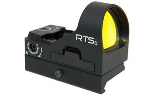 C-MORE RTS2 Red Dot Sight 6 MOA Weaver Picatinny Mount Aluminum Black RTS2RB-6