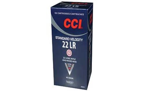 CCI .22 LR Ammunition 50 Rounds LRN 40 Grain 1070 FPS
