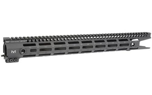 "Midwest Industries AR-15 G3 M-Series Free Float Extended Handguard 17.5"" Length M-LOK Aluminum Black"