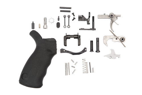 Spikes Tactical AR-15 Enhanced Lower Parts Kit, Complete, Semi-Auto Black SLPK301 - SPKSLPK301