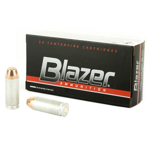 CCI Blazer 10mm Auto, 200GR FMJ, 50rd
