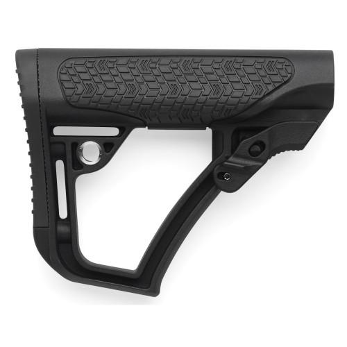 Daniel Defense, Mil-Spec Collapsible Buttstock, Fits AR Rifles, Black Finish - 21-091-04179-006