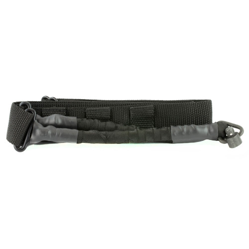 Phase 5 Weapon Systems, Single Point Bungee Sling w/QD Attachment Point, Black Finish - SLG-QD-BLACK