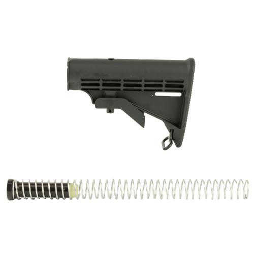 Spike's Tactical, Complete M4 Stock Kit, Black Finish - SAK0701-K