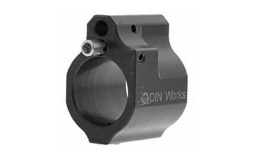 Odin Works, .750 Adjustable Low Profile Gas Block, Black Nitride - GB-ADJ