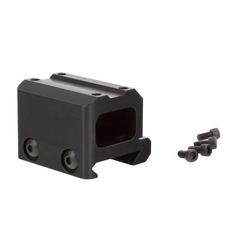 Trijicon, MRO-Miniature Rifle Optic, Mount, Lower 1/3 CO-Witness, Fits Trijicon MRO, Black Finish - AC32069