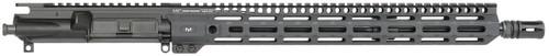 "Midwest Industries AR-15 Upper Assembly 223 Wylde 16"" Lightweight Barrel 15"" M-LOK Handguard, Black (No BCG or Charging Handle) - MI-N16CRM15-U"