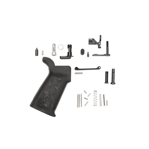 Spikes Tactical AR-15 Standard Lower Receiver Parts Kit, Without Fire Control Group - SLPK100