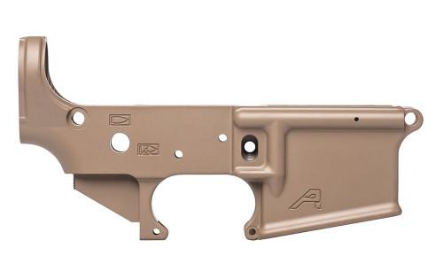 Aero Precision AR15 Stripped Lower Receiver, Gen 2 - FDE Cerakote - APAR501302C