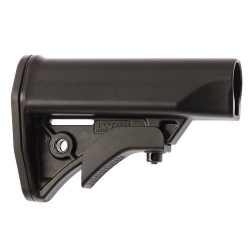 LWRC Compact Adjustable Stock, Black - 200-0124A01