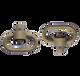 "GrovTec, Heavy Duty Push Button Swivels 1.25"" Loops, Desert Sand - GTSW252"