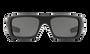 Oakley Men's Ballistic Det Cord Sunglasses - SI USA Flag Matte Black Frame - Gray Lens - OAKOO9253-1161