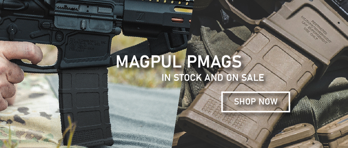 Magpul PMAGs in stock and on sale